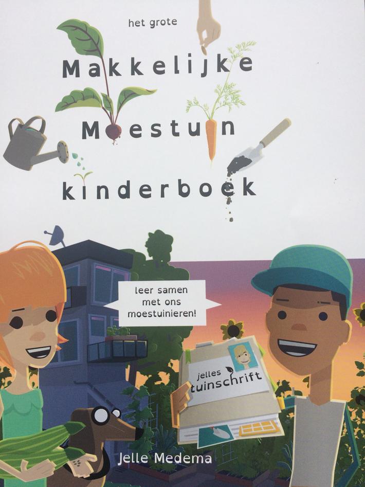 Boeken: Het grote Makkelijke Moestuin Kinderboek